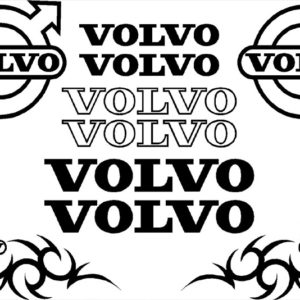 Volvo Sticker Set - Black