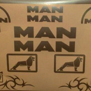 MAN Sticker Set
